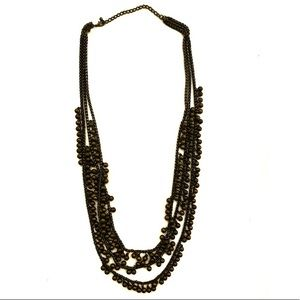 3/$8🎉 Bronze beads three layers necklace